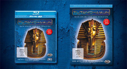 TUTANKHAMUN Blu-Ray and DVD