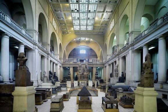 Sanierung des Ägyptischen Museums in Kairo