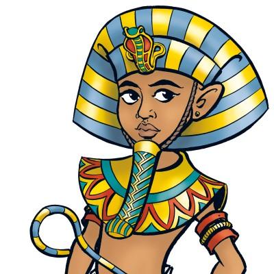 Mosaik_Pharao